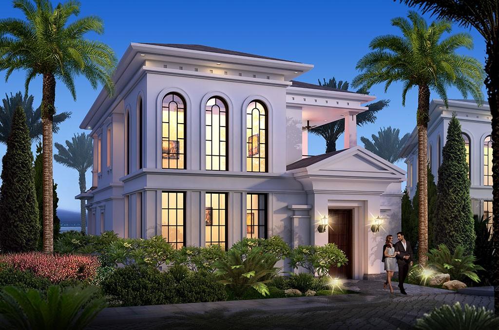Ngoại thất biệt thự Vinpearl Paradise Villas