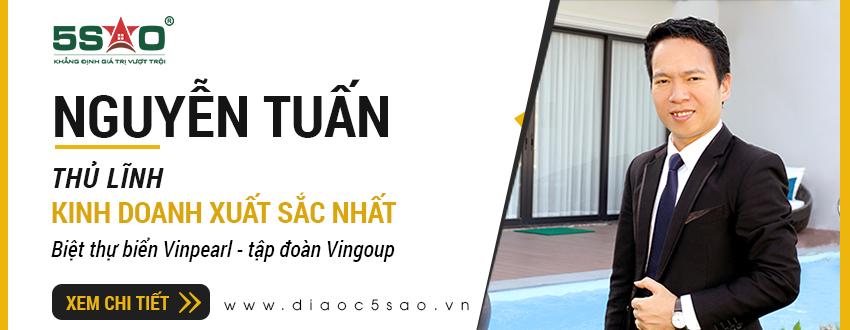 Nguyễn Tuấn: Nhà kinh doanh biệt thự Vinpearl xuất sắc nhất