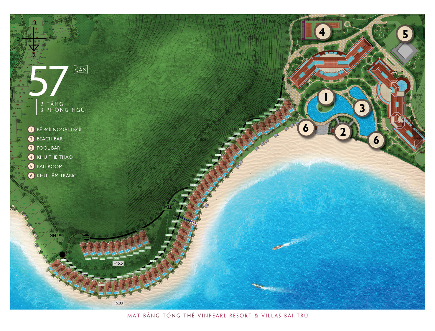 mat bang tong the du an Vinpearl Nha Trang Resort tai Bai Tru