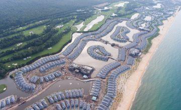 Tiến độ xây dựng dự án Vinpearl Phú Quốc 3 Cập nhật tháng 12