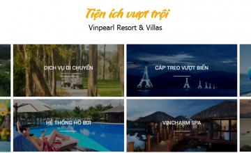 Điểm lại 6 ưu thế nổi bật của biệt thự nghỉ dưỡng Vinpearl