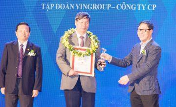 Vingroup tiếp tục được vinh danh là Chủ đầu tư BĐS uy tín nhất Việt Nam