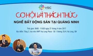 Cơ hội và thách thức nghề Bất động sản tại Quảng Ninh