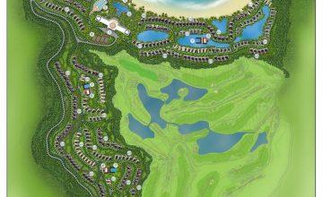 Mặt bằng dự án Vinpearl Golf Land Nha Trang có gì nổi bật?