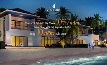Bản chất cam kết lợi nhuận 100% sau 10 năm khi mua biệt thự nghỉ dưỡng ven biển?