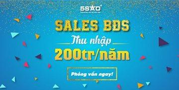 TRỞ THÀNH SALES BẤT ĐỘNG SẢN ĐỊA ỐC 5 SAO – THU NHẬP 200 TRIỆU/NĂM