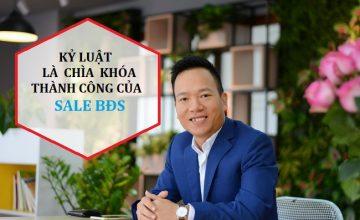 8 lý do vì sao kỷ luật là chìa khóa thành công của sale bất động sản