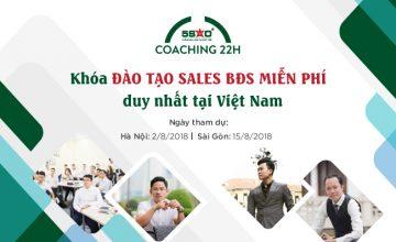 Thông báo: Lịch khóa đào tạo Sales BĐS MIỄN PHÍ tại Địa Ốc 5 Sao tháng 8