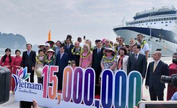 Năm 2018 du lịch Việt Nam lập kỷ lục đón 15,6 triệu lượt khách quốc tế