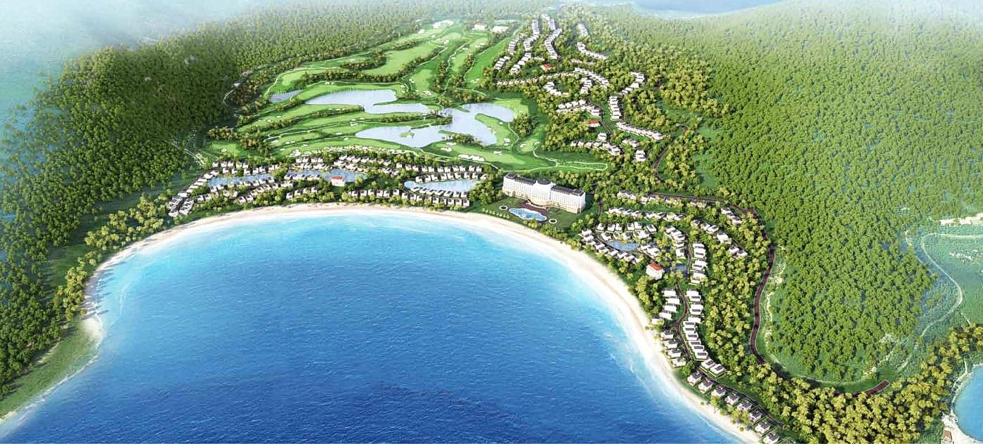 phoi canh golf land Nha Trang