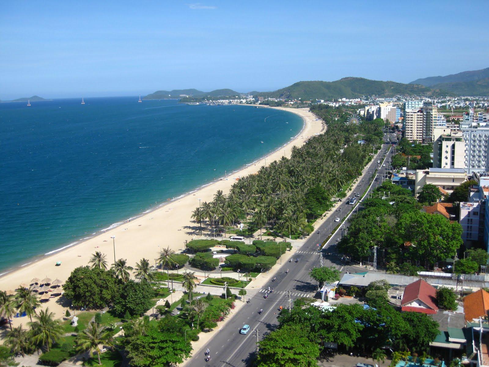 vị trí Vinpearl Beachfront Condotel Nha Trang