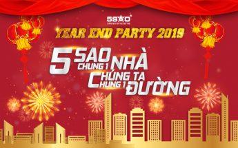 Year End Party Địa Ốc 5 Sao: 5 SAO CHUNG 1 NHÀ, CHÚNG TA CHUNG 1 ĐƯỜNG!